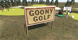 CDE Goony Golf Sign Board
